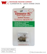 Eliminator RC Quick Change Chuck