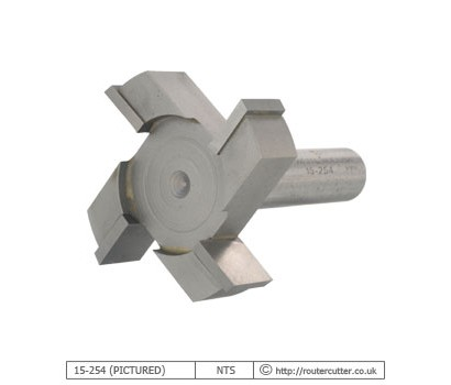 Whiteside Machine Company 4 Wing CNC Spoilboard Surfacing Router Bit for MDF and Abrasive Materials