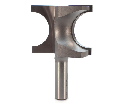 2 Flute carbide tipped Whiteside 1435 half round bull nose router bit with 15.88mm (5/8