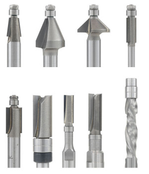 Mini Router Bits for Fine Work - Luthiers Router Bits