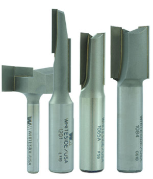 Straight Cut Tungsten Carbide Tipped Brazed Router Bits